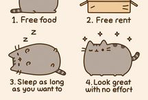 Pusheen The Cat / Pusheen The Cat / by Ashley Boasso