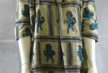 Pour s'habiller / Vêtements en coton particulièrement en tissu pagne