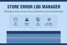 Store Error Log Manager Extension / Now you can track your website and log errors, not found pages and wrong login attempts. Knowing different types of errors of your website can help you reduce it by resolving it and providing your customers improved #shopping experience.