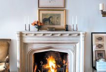 Fireplaces Mantels / by Cottages & Gardens