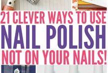 Nail Polish - Unexpected uses