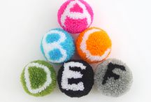 Pompoms / Easy to make and more versatile than you might realize. Kids love making them!