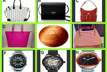 Win It Wednesday / Designer Bags and Men's Watches Tonight at 10 PM ET at OneCentChic