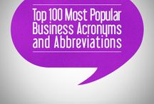 Top 100 Most Useful Business Abbreviations & Acronyms / Business English#business vocabulary#business phrases#