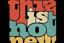 typographie / Fonts/typo
