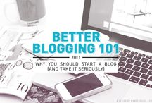 Blogging Tips and Tricks  / A compilation of tips from all around the web. <3  / by Samantha Camille Balasolla