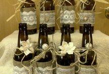 garrafas enfeitadas