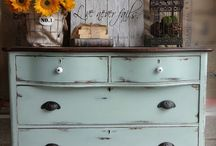 shabby furniture