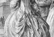 18th century hair