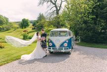 Wheels for your wedding / Stylish ... fun ... fast ... or with the help of some four legged friends! How are you going to travel? Here's some inspiration to help you pick your wedding transport.