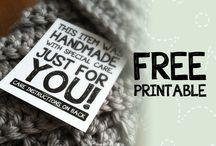 Free Crochet Printables