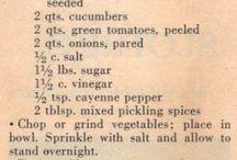 Garden recipes / Recipes