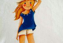 pinturas em camisetas