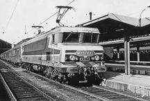 CC 65xx SNCF & Mistral / Locomotive CC65xx SNCF and Mistral train