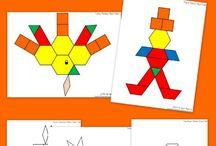 November Activities in Kindergarten