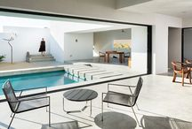 Pools and backyards / by Azure Magazine