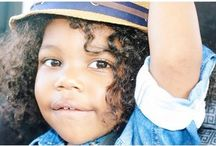 cB KIDS / natural styles for the curly kids.