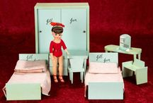 1950's small doll furniture