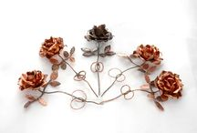 Fiori - flowers / I love flowers, they inspire me. Here you find some beautiful shot or real flowers, and others, still pretty nice, about my handmade copper flowers.