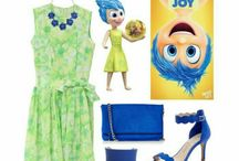 Disney Characters Outfits