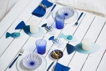 Shades of Blue / Du bleu, rien que du bleu pour une météo au beau fixe toute l'année.