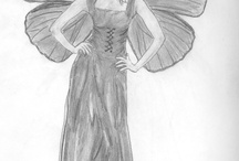 My older sketches  / Here are some of my older sketches, many years ago.