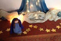 Seizoenstafel kerst en advent