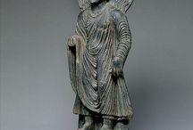Gandhara Miracle of Sravasti / Miracle of Sravasti Gandhara