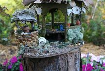 Fairy houses/gardens/garden sheds / by Christie Biscuits