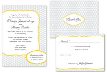 Invitations/placeholders/signage / by Anna Songco