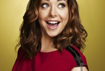 Alyson Hannigan / by Leland Johnson