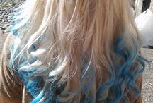 Blauw haar