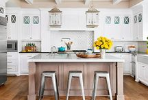 Kitchen Design / Lovin' this kitchen & dining interior design!