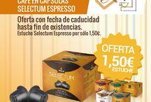 Ofertas / Ofertas de productos de Cafés Candelas