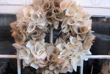 wreath ideas / by Debbie Cress