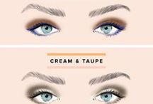 make up blue eyes