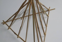 Bamboe, snijbloemen en wilgentenen