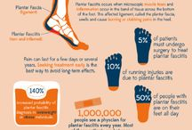 Foot Health / Common issues relating to foot health and treatment ideas / by Donna Callahan