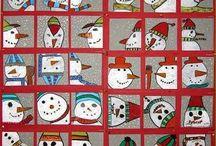 winter knutselen / winter