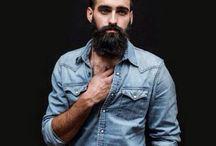 Quiff and beard