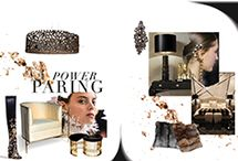 Love Happens Moodboards / Feel inspired by KOKET moodboards, the junction of luxury design pieces with fashion!