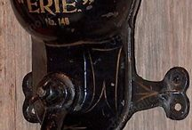Antique Coffee Equipment / Any coffee equipment from another era.