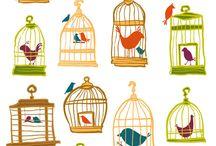 DigiWildLife(`∇´) BIRD pattern background clipart / digi backdrop background desktop wallpaper pattern textiles decor pictures art clipart embellishments digital scrapbooking printables. PSP = Paint Shop Pro by COREL. Ps = PhotoShop by ADOBE. / by Lisa BWD