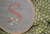 Cross Stitch (because all the cool kids are doing it!)