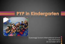 KG1 / Education early years PYP