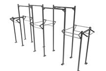 Racks & Rigs / Quality materials, innovative designs and precision, are the prime factors in building robust structures.  * Free Standing Rigs * Wall Mounted Rigs  * Home Rigs * Squat Racks & Cages * Wall Mount Pul Up Bars