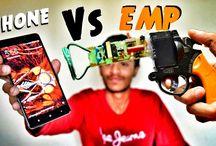 EMP Generator Gun vs Smartphone !