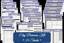Etsy Business / Printables and tools to streamline and organize your business