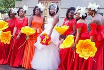 Nigerian Wedding| Paper Floral For Brides & Bridesmaids
