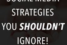 Social Media Tips for Bloggers / Social media marketing tips and optimisation for bloggers and small businesses - how toed grow and engage your community with a great social media strategy.